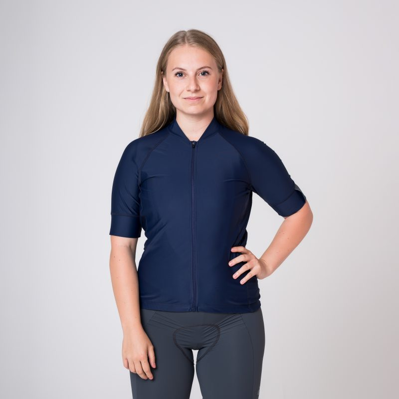 Cyklistický dres re_cycle firm Navy